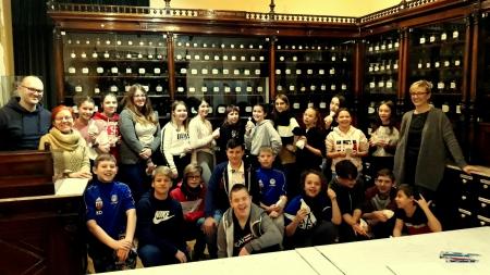 Zajęcia edukacyjne kl. 6b w Muzeum Ceramiki i Archiwum