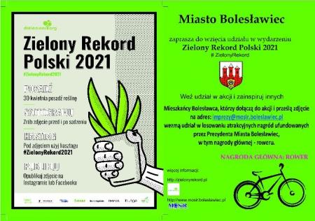 Zielony Rekord Polski 2021