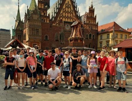 Wycieczka edukacyjna do Wrocławia